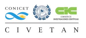 Logo CIVETAN (CONICET CICPBA UNCPBA)